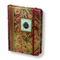 Handgefertigtes Notizbuch - Miniformat