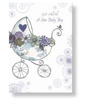 Grußkarte zur Geburt eines Sohnes