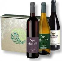 Wein-Präsentpaket Gamla mit Karte