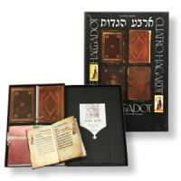 Sammlerstück: Kassette mit 4 Haggadot als Faksimile historischer Ausgaben
