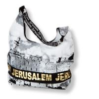 Hand- und Einkaufstasche - Jerusalem in Gold
